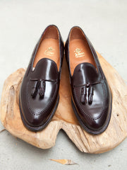 Alden Tassel Loafer in Color #8 Shell Cordovan