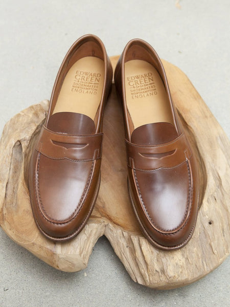 Edward Green Duke Unlined Loafer in Bourbon Shell Cordovan