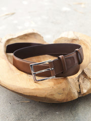 Carmina Shoemaker Belt in Brown Calf