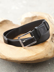 Carmina Shoemaker Belt in Black Calf