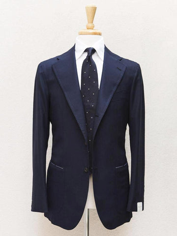 Orazio Luciano Hopsack Jacket in Navy