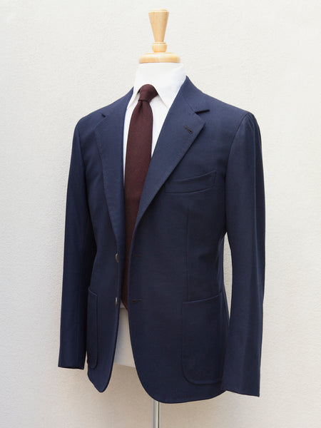 B&Tailor Sport Coat in Navy Flannel