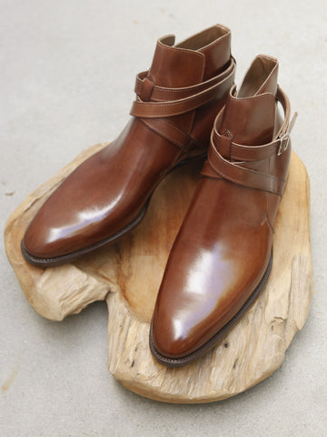 Zonkey Boot Jodhpur Boots in Brown Calf