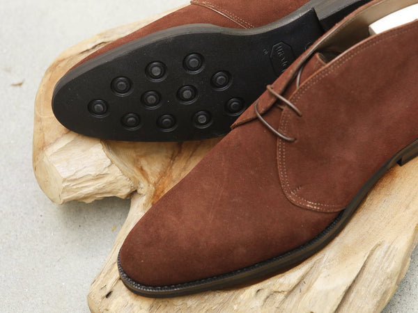 Zonkey Boot Two Eyelet Chukka Boots in Polo Suede