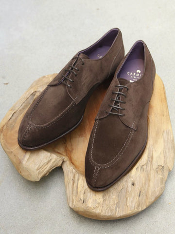 Carmina Shoemaker NST in Chocolate Suede