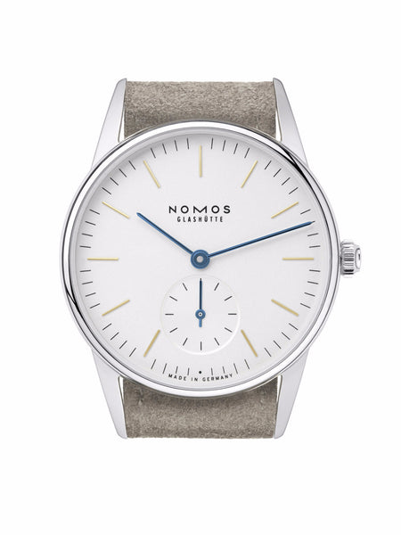NOMOS Orion 33 (Sapphire Crystal Back / Ref. 322)
