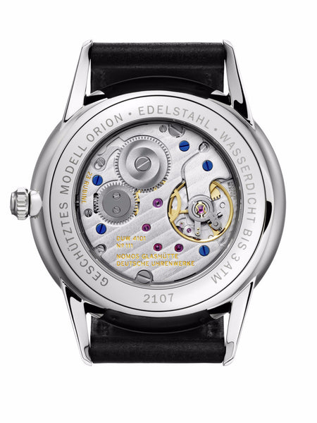 NOMOS Orion 38 Datum Weiss (Sapphire Crystal Back / Ref. 381)
