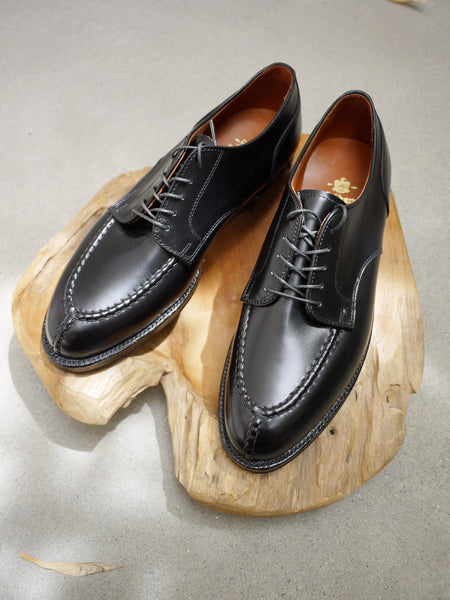 Alden NST Blucher in Black Calf