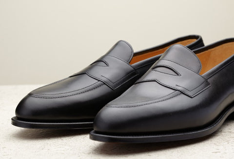 Edward Green Piccadilly in Black Calf