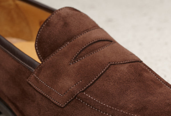 Edward Green Piccadilly in Mink Suede