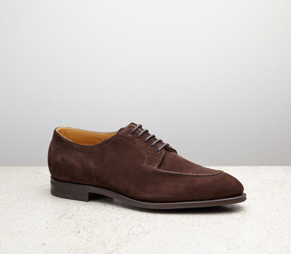 Edward Green Unlined Dover in Mink Suede