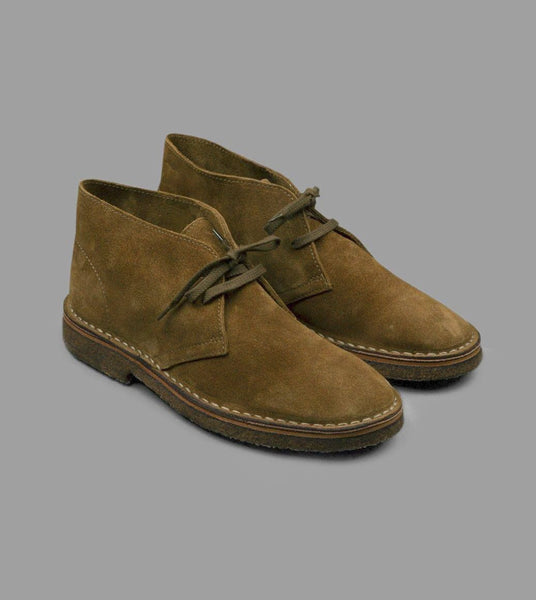 Drake's Clifford Desert Boot Tobacco Suede