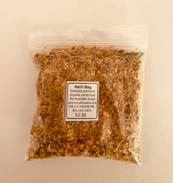 Honeysuckle Catnip Refill Bag (10g)