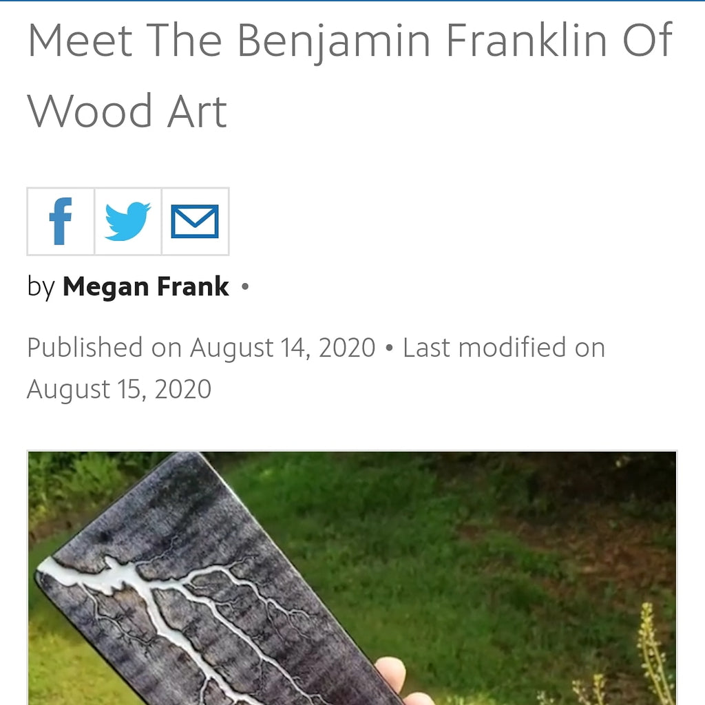 Meet the Benjamin Franklin of Wood Art (PBS Culture Shock)