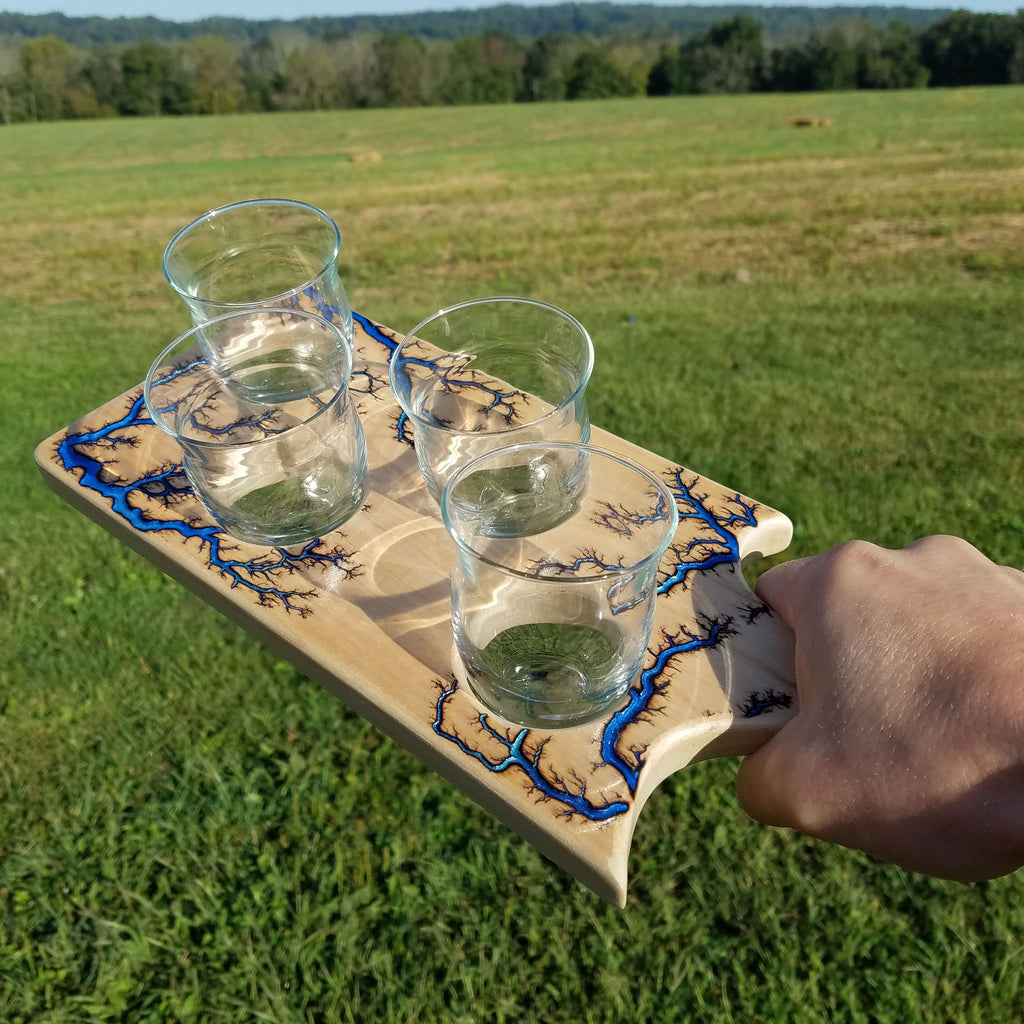 MAPLE Beer or Cocktail Flight Paddle (Made-to-order)