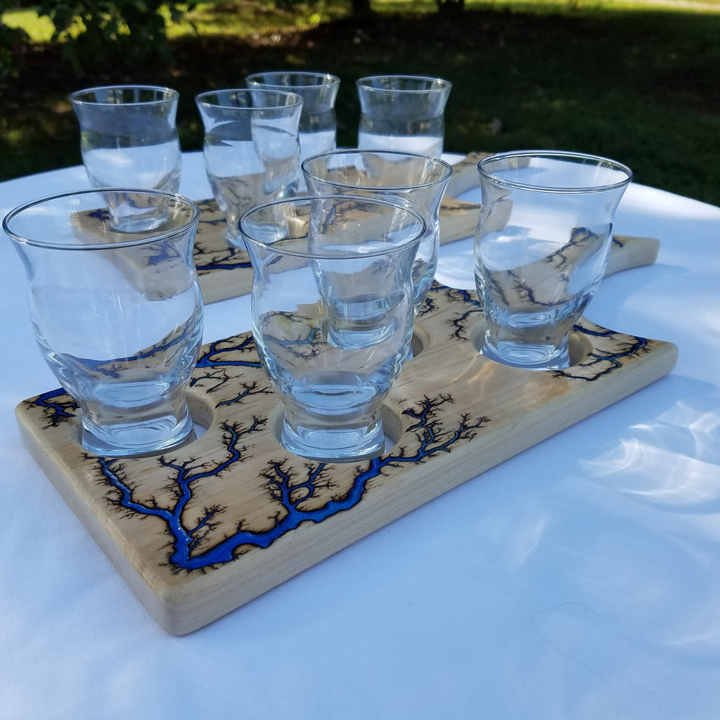 Walnut Beer or Cocktail Flight Paddle (Made-to-order)