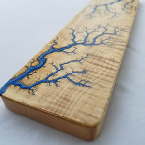 CURLY MAPLE Wrist Rest (Made-to-order)
