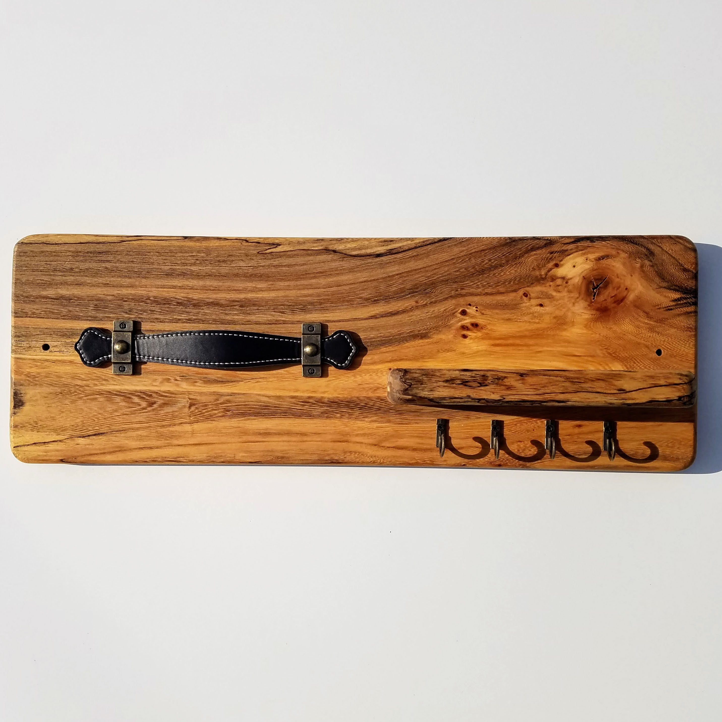 Sunglass and Key Rack (Spalted White Cedar)