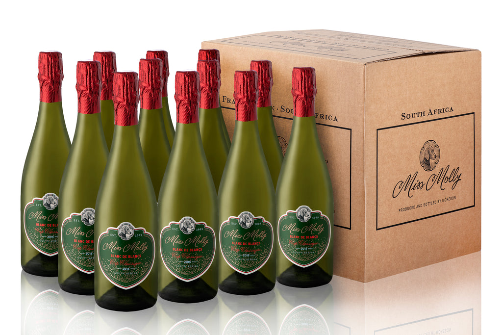 Miss Molly Blanc de Blancs '15 | 12 Bottle Box Edition