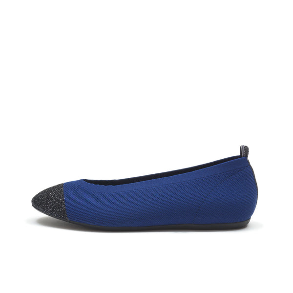 FLAT ROUND - METAL BLACK TOE NAVY