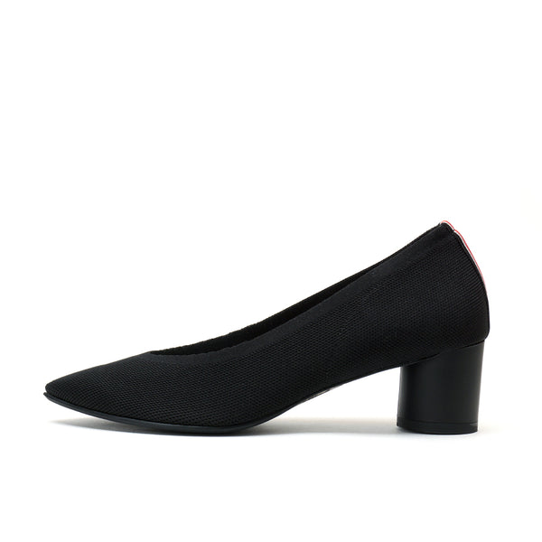 KNIT PUMPS POINT - BLACK