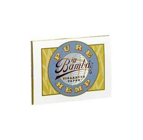 Big Bambu Pure Hemp Rolling Papers (3 Packs)