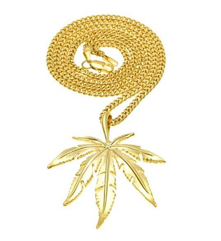 Cannabis Necklaces & Pendants