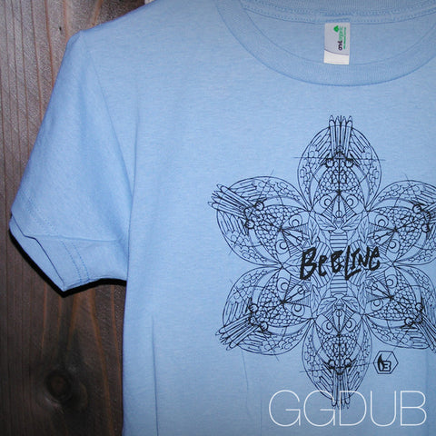Ladies Bee Line Light Blue T-Shirt