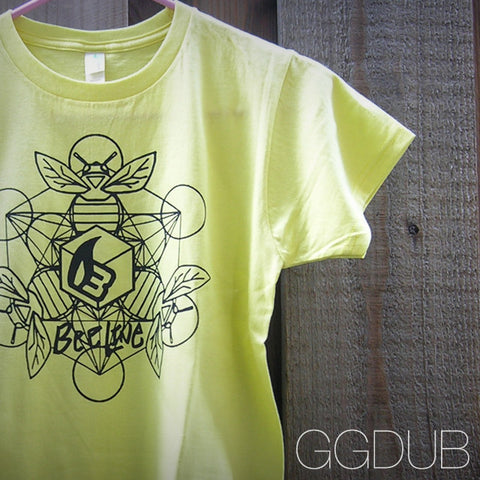 Ladies Bee Line Yellow T-Shirt