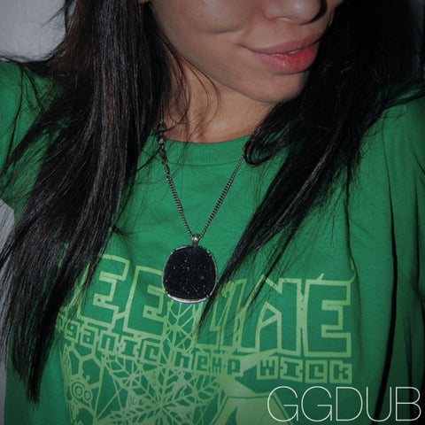 Ladies Bee Line Green T-Shirt