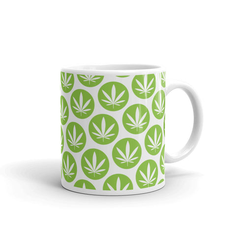 Leaf Mug - Green x-mas edition