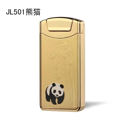 Gold Panda USB Rechargeable Windproof Electronic Lighter
