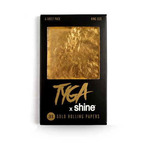 Shine Tyga Papers 6 Sheet Pack