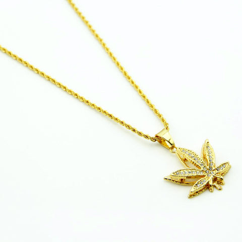 Weed Necklace & Pendant