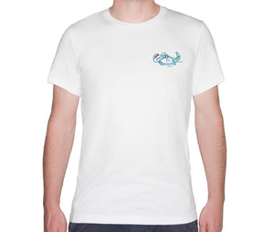 🐊 Alligator chilling in the Everglades White T-Shirt - Man - Unisex