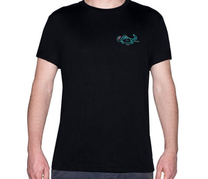 🐊 Alligator chilling in the Everglades Black T-Shirt - Man - Unisex
