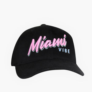 🕶️ Miami VIBE hat - Curved or flat brim | Glows in the dark