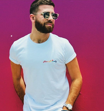 Load image into Gallery viewer, 🌈 Miami Friendly White T-Shirt - Man - Unisex