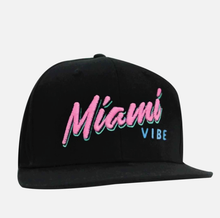 Load image into Gallery viewer, 🕶️ Miami VIBE hat - Curved or flat brim | Glows in the dark