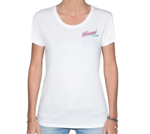 Load image into Gallery viewer, Miami VIBE White T-Shirt Woman | Glow in the dark