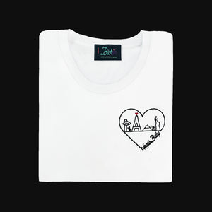 🖤 Vegas Baby White T-Shirt - Woman