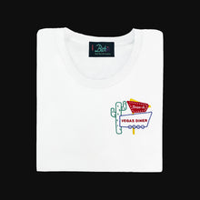 Load image into Gallery viewer, 🌵 Vegas Diner White T-Shirt - Woman | Glows in the dark