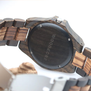Zebrawood & Blackwood