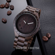 Load image into Gallery viewer, Natural Blackwood Watch