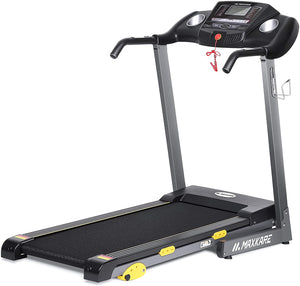 "Treadmill - Foldable Treadmill Motorized 17"" Wide Tread Belt With Incline And LCD Display"