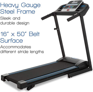Treadmill With Incline For Home Use - Foldable