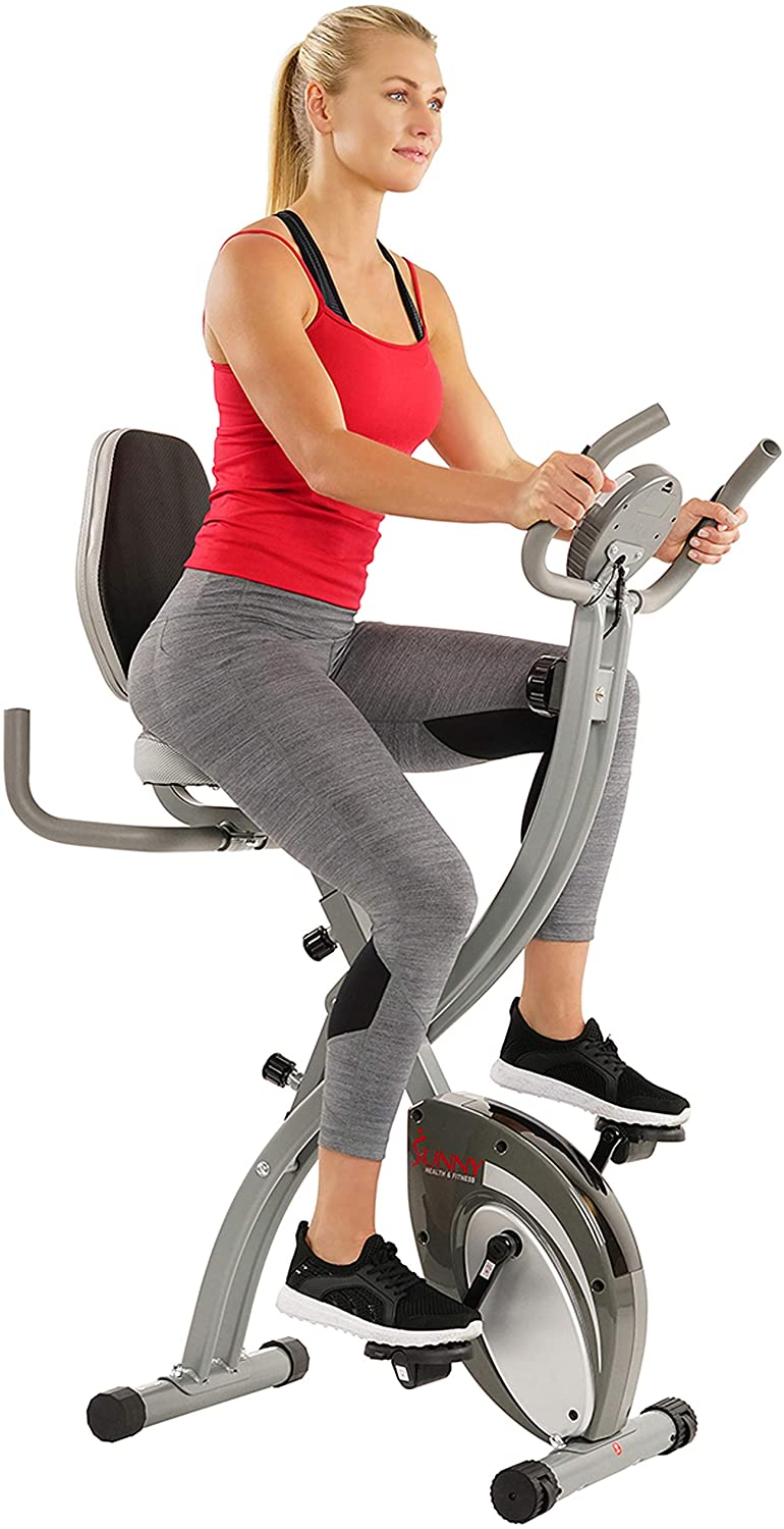 Sunny Health Exercise Bike Folding Exercise Bike