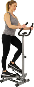 Sunny Health Stair Stepper With Handle Bar and LCD Monitor