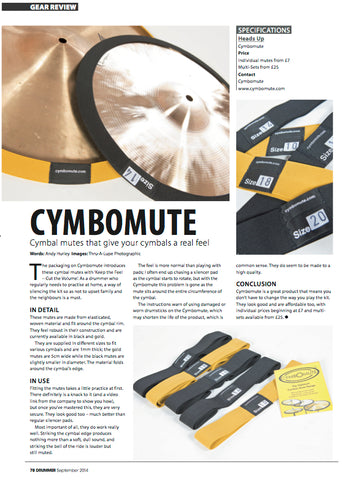 cymbomute drummer mag review