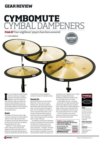 cymbomute rhythm mag review